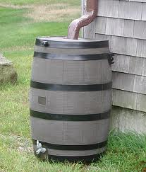 rain barrel water recycling